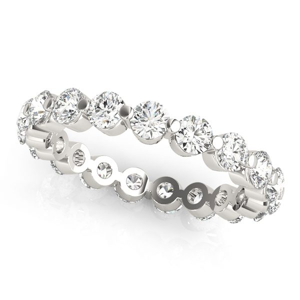 Single Shared Prong Eternity Ring 0.70ct