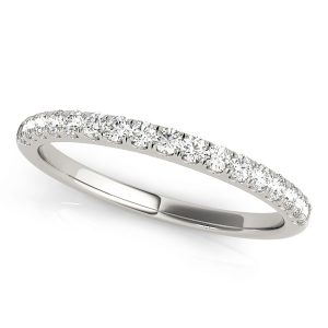 Claw Set Diamond Wedding Ring